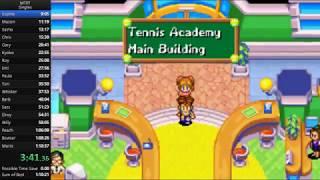 Mario Tennis Power Tour - Singles Speedrun in 1:10:06 [Current World Record]