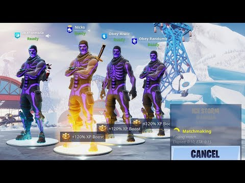 we DIDN'T LOSE a single GAME playing as Purple Skull Trooper