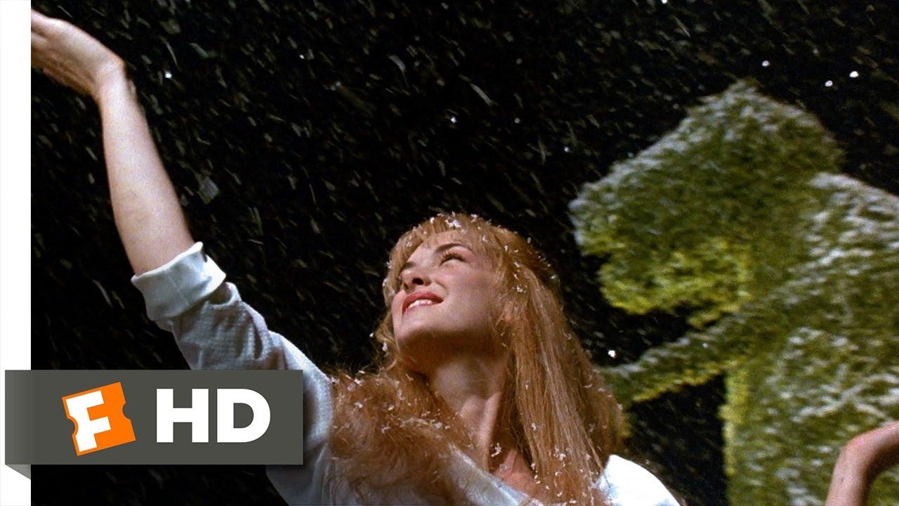 Edward Scissorhands 1990 Edward Makes Snow Scene 3 5 Movieclips Youtube