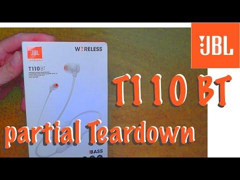 JBL T110 BT - TEARDOWN (partial)