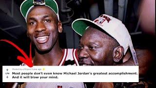 Michael Jordan's Greatest Accomplishment You've Never Even Heard Of
