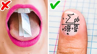 BACK TO SCHOOL HACKS THAT WILL SAVE YOUR LIFE    Funny School Supply DIYs And School Tricks!
