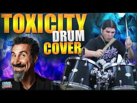 ¡EDDIE TOCANDO TOXICITY EN BATERIA! - System of a Down Cover.