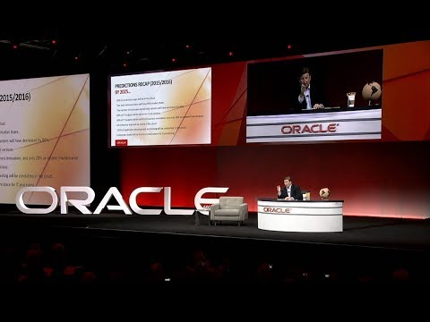 Accelerating Growth in the Cloud: Mark Hurd Keynote at Oracle OpenWorld 2018