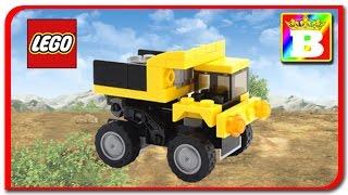 Lego Creator 31041 Construction Vehicles 2 of 3 Dump Truck    Lego Speed Build  New Brick Builder