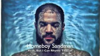 "Homeboy Sandman - ""Yeah, But I Can Rhyme Though"""