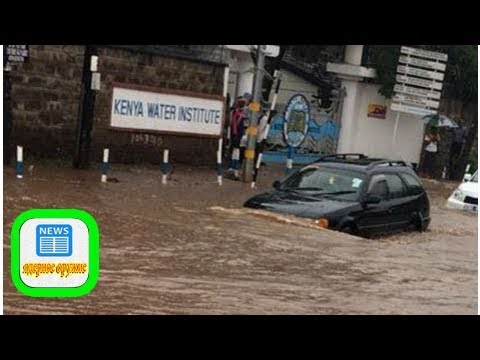 Nairobi flooded from heavy downpour as business comes to a standstill