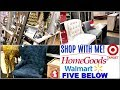 SHOP WITH ME HomeGoods, Target, Walmart Fall Christmas Decor HAUL 2018! #Youvember Day 6