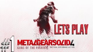 Metal Gear Solid 4: Guns of the Patriots Livestream - Playstation 3 - Part 1