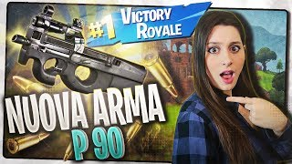 REAL VITTORY with the new legendary MITRAGLIETHE THE P90 ! Fortnite, Fortnite