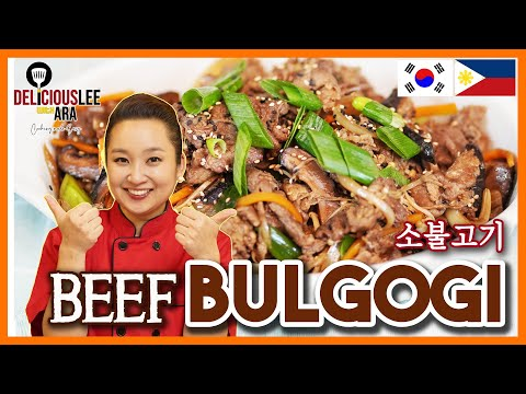 [Easy Korean Recipe in Tagalog]  BEEF BULGOGI