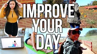 8 ways to improve your day happy life hacks