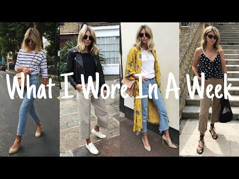 VLOG #8 | What I Wore In A Week - All The OOTD's