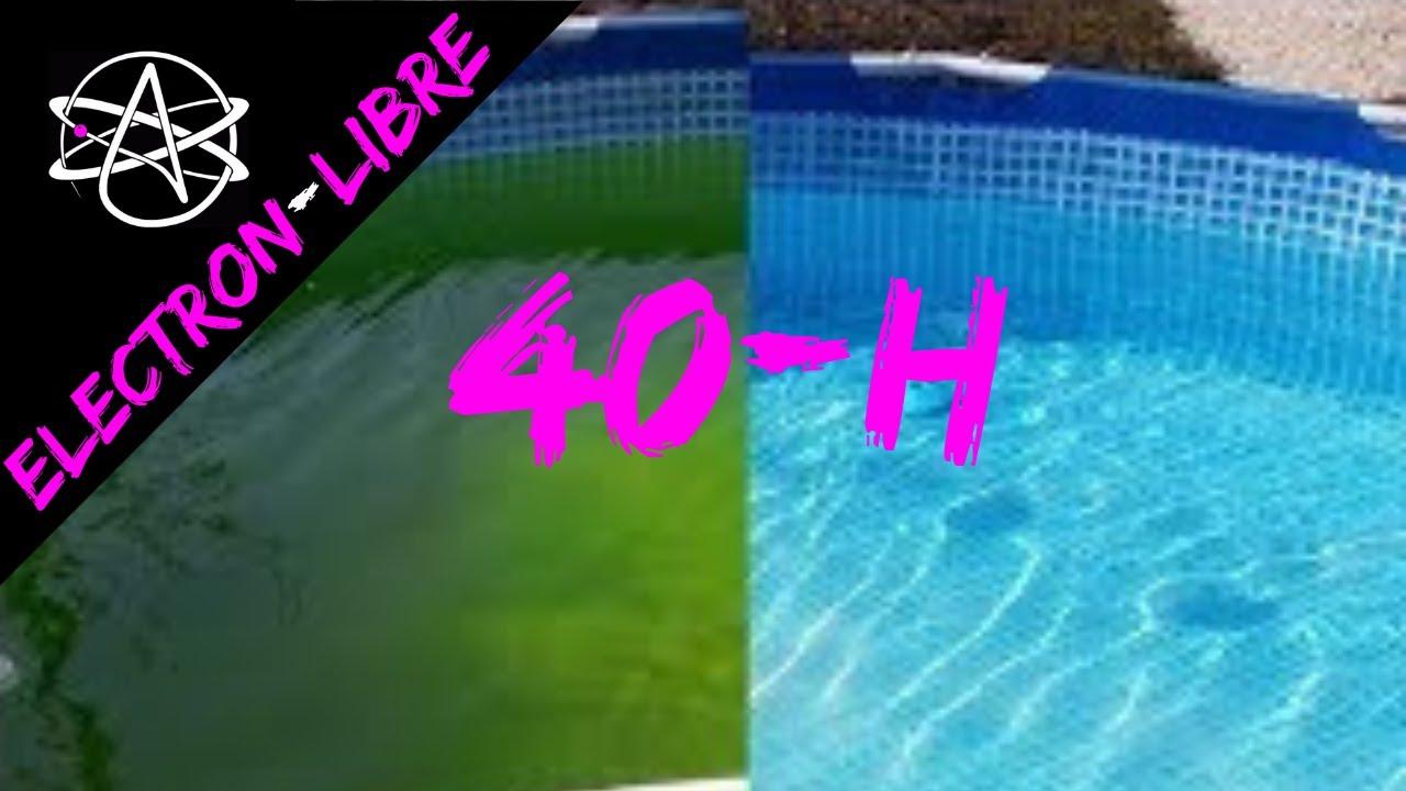 Comment rattraper l 39 eau verte de sa piscine youtube - Comment recuperer eau trouble piscine ...