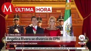 ÚLTIMA HORA: Angélica Rivera confirma divorcio de Peña Nieto