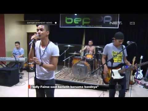 Aldy Fairuz latihan bersama Bandnya