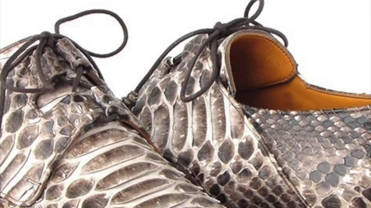 Paul Parkman Men S Natural Genuine Python Snakeskin