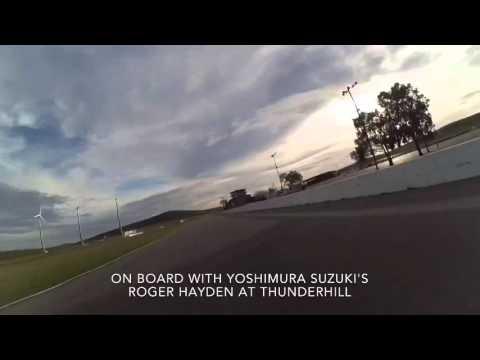 Roger Hayden on-board video from Thunderhill Raceway Park.