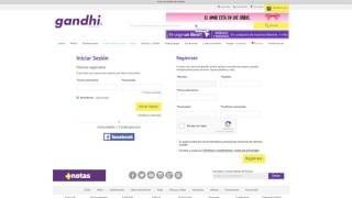 Tutorial registro Gandhi