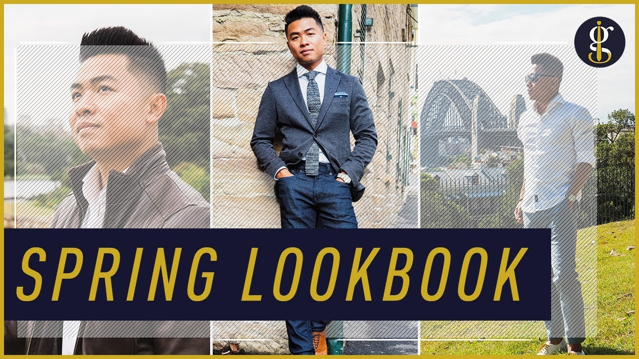 Men's Spring Fashion Lookbook & Easy Outfit Ideas | How To Style A White Shirt 3
