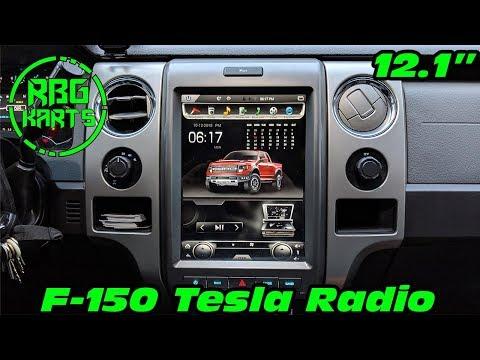 F-150 Tesla Radio Install