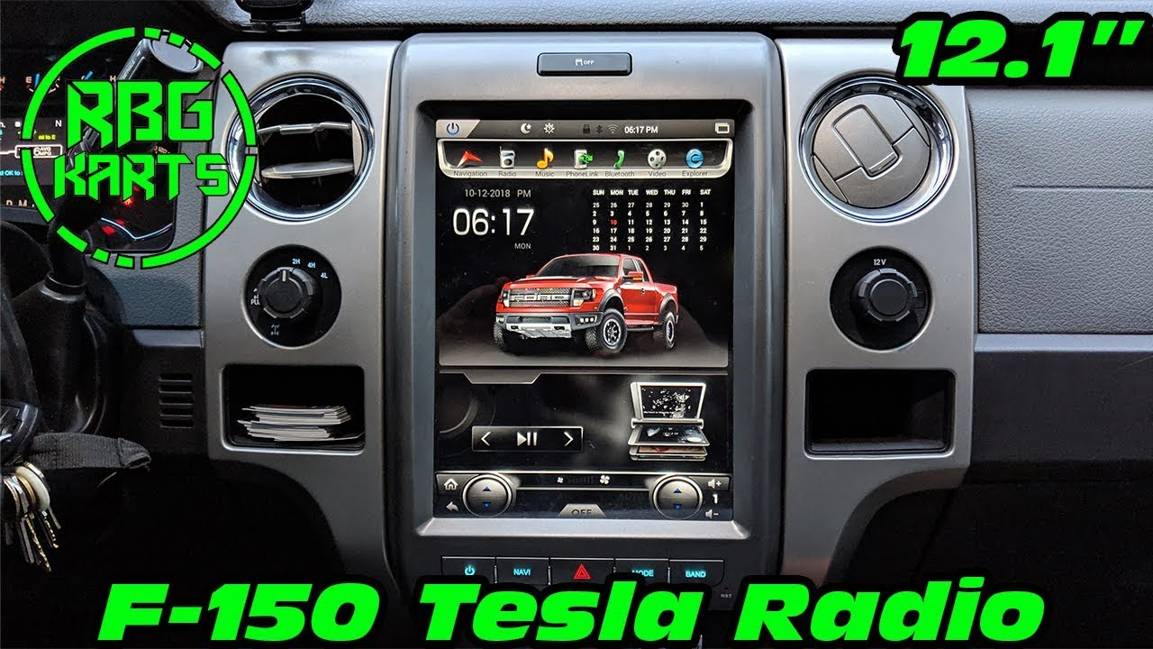 F-150 Tesla Radio Install - YouTube