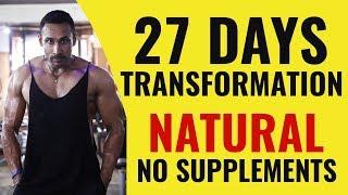 Transform karo 27 din mein-NO Supplements needed