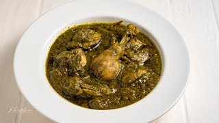How to cook Palak Chicken  Chicken Palak Curry for Roti, Chapatti and Rice  Manchatti Kitchen