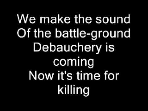 Debauchery death metal warmachine - 5 2