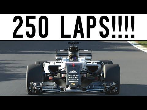 Forza 7 - THE 250 LAP CHALLENGE!! + Insane Rewards