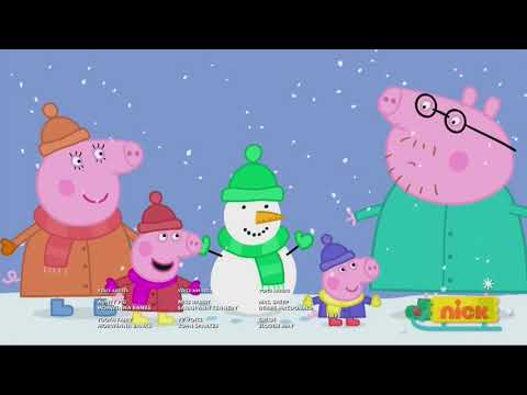 Peppa Pig on Nickelodeon *TOTALLY REAL* (Christmas 2017)