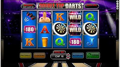 Double tops darts - Feature game triggered with Free spins
