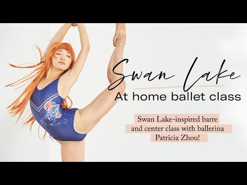 90 minute Swan Lake Ballet Class Home Workout | Barre and Center