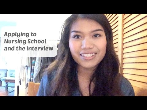 Applying to Nursing School and the Interview Process