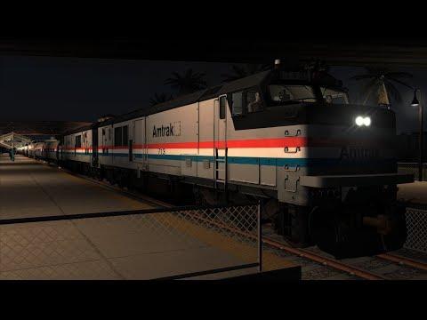 Train Simulator: Miami - West Palm Beach - Amtrak P30CH - Northern Meteor – Part 1