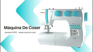 Máquina  de coser Janome 3016 :: Casa Rizo