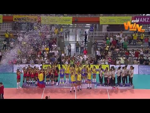 Colombia vs. Brasil | Sudamericano Femenino de Voleibol