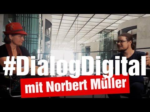 #DialogDigital mit Norbert Müller: Digitale Bildung