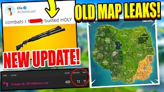 Epic Employee Exposes OLD Map GONE FOREVER? Pros WIN 11/12 FNCS Games! Clix Says NEW Combat is OP!