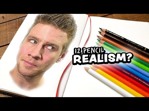 Can I Draw REALISM with only 12 Colored Pencils?