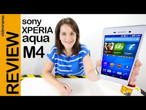 Sony Xperia M4 aqua review en español