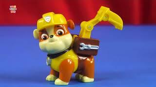 Фигурка спасателя из популярного мультфильма Щенячий патруль.