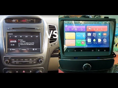 Автомагнитола Kia Sorento 2012 Premium, Prestige. замена штатной ГУ Mortex MTXT900XM