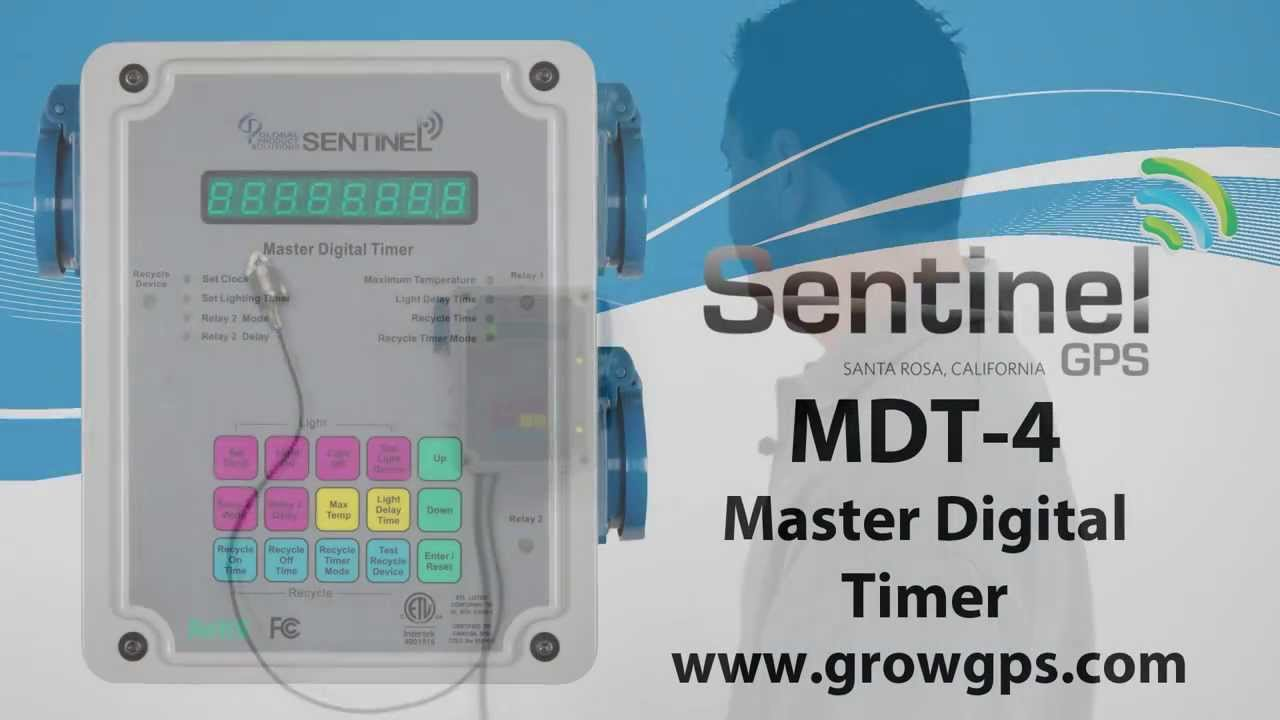 Sentinel gps mdt4 master digital timer with high temperature sentinel gps mdt4 master digital timer with high temperature shutdown malvernweather Gallery