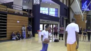 Kobe Bryant Abuses Bow Wow in One on One (Summer Camp, July 2011)