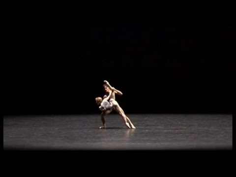Workwithinwork: Choreography, William Forsythe. Dancers: Dana Caspersen and Fabrice Mazliah