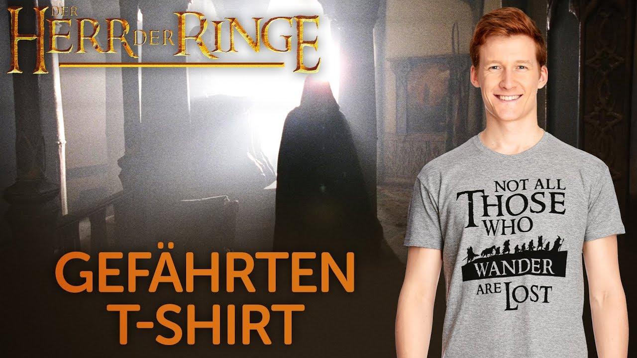 381275617c3b18 Herr der Ringe - Gefährten T-Shirt grau | Elbenwald