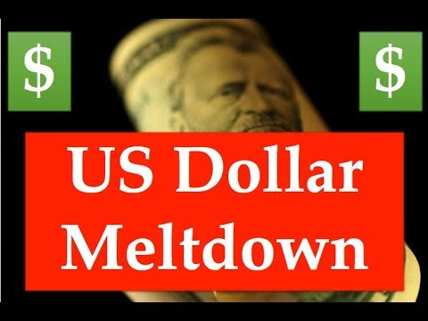Gold & Silver Price Update - January 24, 2018 + US Dollar Meltdown