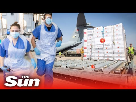 'Useless' coronavirus PPE gowns flown in from Turkey are impounded after failing NHS safety tests