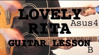 Lovely Rita - Guitar Lesson